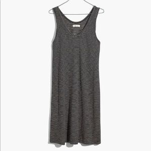 Madewell Scoopneck Knit Striped Tank Dress